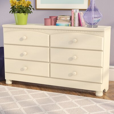 Florence 6 Drawer Double Dresser