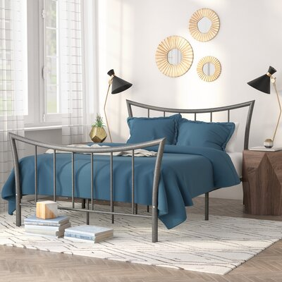 Paugh Metal Platform Bed Size: Queen