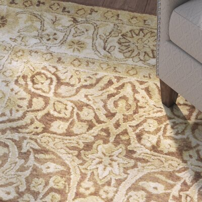 Anderle Beige Area Rug Rug Size: Rectangle 9 x 13