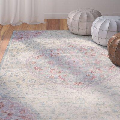 Chauncey Weave Light Gray Area Rug Rug Size: Square 6