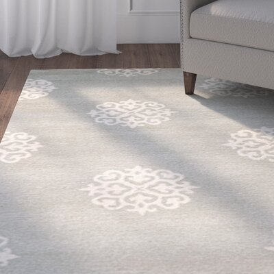 Backstrom Gray / Ivory Rug Rug Size: Square 8
