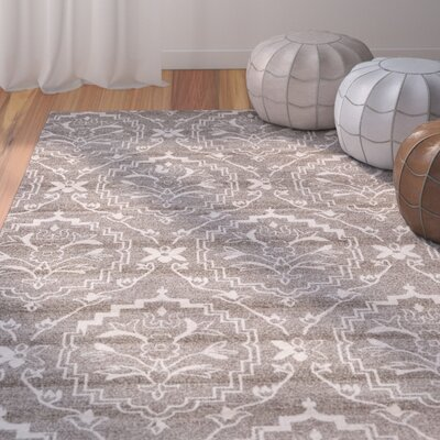 Ezequiel Light Brown Area Rug Rug Size: Rectangle 33 x 53