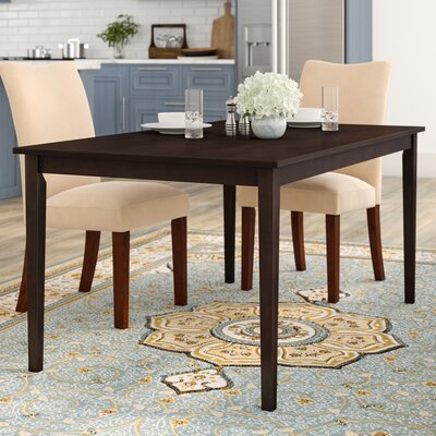 Elsa Wood Dining Table Finish: Wenge