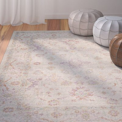 Chauncey Seafoam Area Rug Rug Size: Rectangle 4 x 6