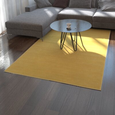 Risley Gold Area Rug Rug Size: Rectangle 10 x 13