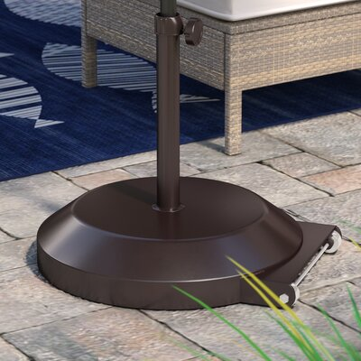 April Umbrella Base with Wheels Finish: Bronze