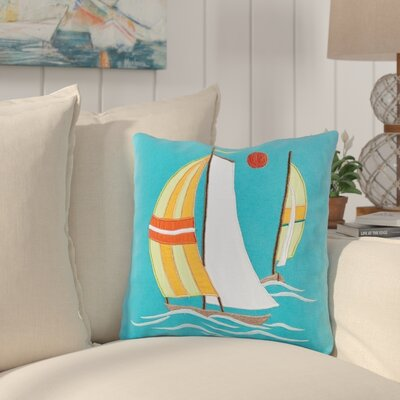 Bonaventure Square Cotton Throw Pillow