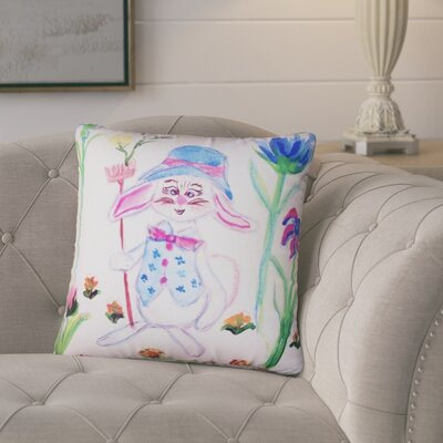 Amadou Mrs. Farmer No Cord Outdoor Throw Pillow