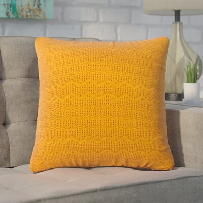 Forbell Cotton Throw Pillow (Set of 2) Color: Orange