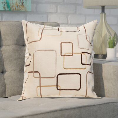 Pires Throw Pillow Color: Champagne