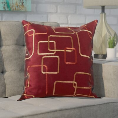 Pires Throw Pillow Color: Merlot