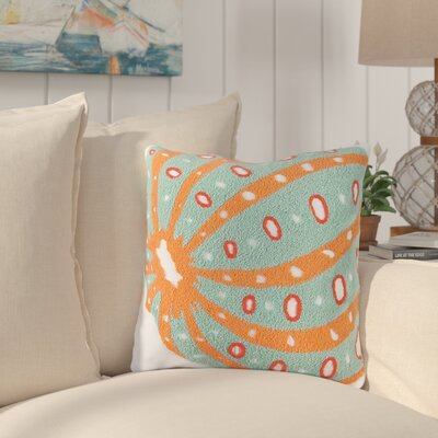Hayes Sea Urchin Cotton Throw Pillow