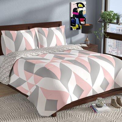 Babineau 3 Piece Reversible Comforter Set Size: Queen