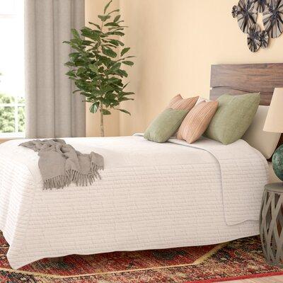 Durand Microfiber Bedspread Size: Queen