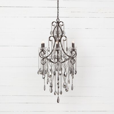 Duryea 6-Light Crystal Chandelier