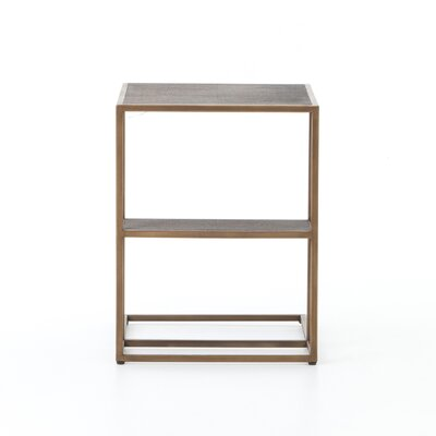 Altus Creek Shagreen End Table