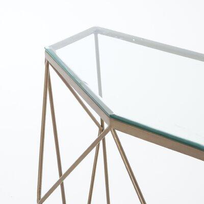 Senger Geometric Console Table