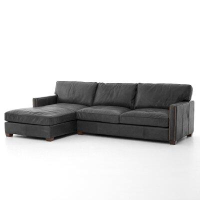 Selden Sectional Upholstery: Rider Black