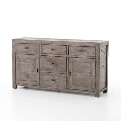Glenna Sideboard Color: Black Olive