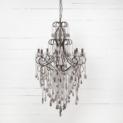 Duryea 8-Light Crystal Chandelier