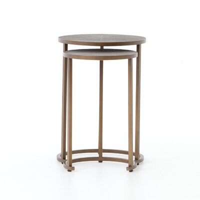 Alfonse 2 Piece Nesting Tables