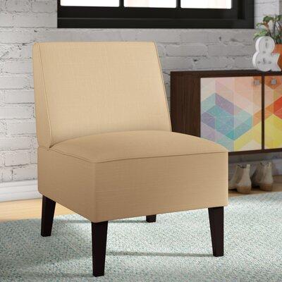 Benitez Slipper Chair Upholstery: Cream