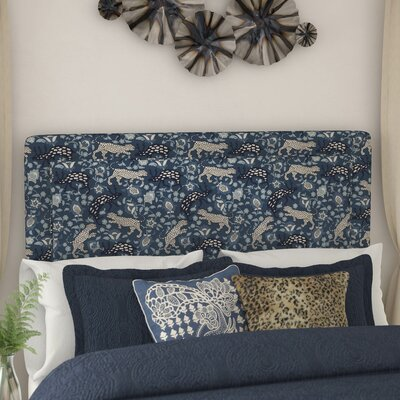 Fiesta Linen Upholstered Panel Headboard Size: Queen