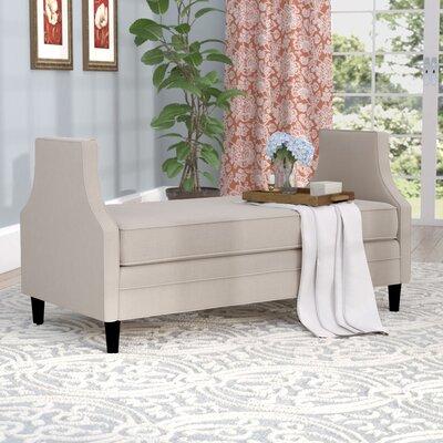 Greer Settee Upholstery: Beige