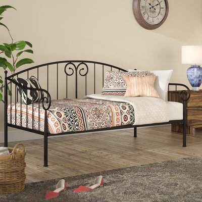 Vivienne Transitional Daybed Finish: Black