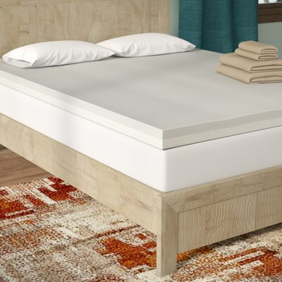 Combo 3 Memory Foam Mattress Topper Size: Twin