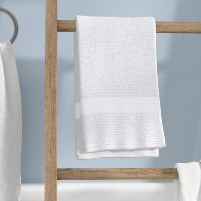 Liam Hand Towel Color: Optical White
