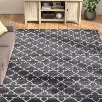 Spaulding Gray Indoor/Outdoor Area Rug Rug Size: 8 x 10