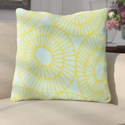 Belsize Decorative With Circles 100% Cotton Throw Pillow