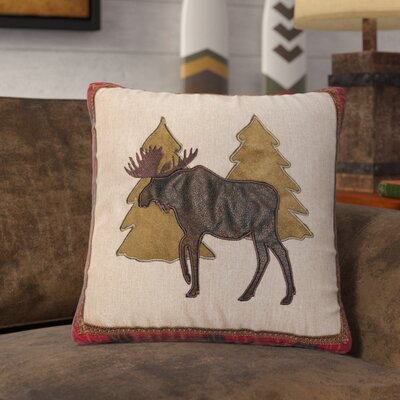 Ledoux Moose and Trees Throw Pillow