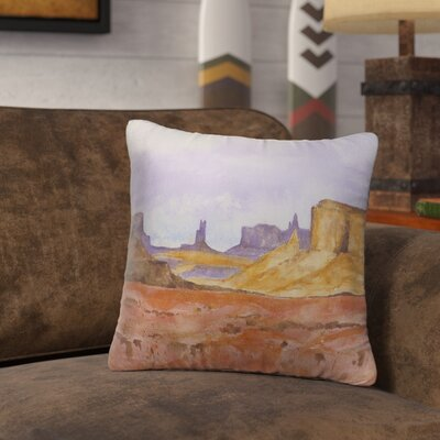 Antonia Outdoor Throw Pillow Size: 18 H x 18 W x 6 D