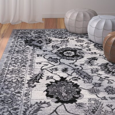 Chiltern Gray/Cream Area Rug Rug Size: 311 x 53