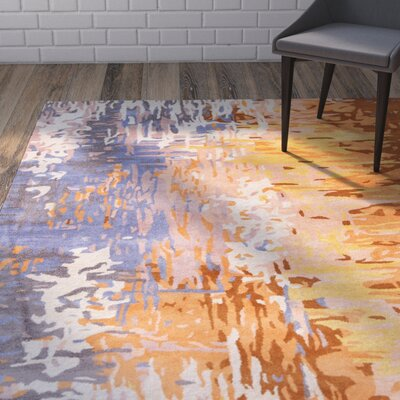 Demosthenes Tan Area Rug Rug Size: Rectangle 2 x 3
