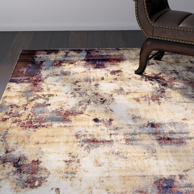 Jani Beige/Brown Area Rug Rug Size: Rectangle 8 x 10
