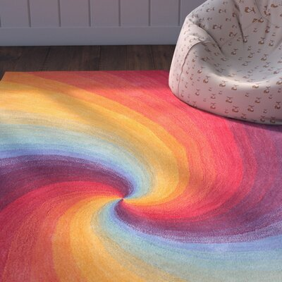 Natalie Hand Tufted Wool Tranquility Area Rug