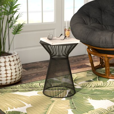 Hodov End Table Color: Black