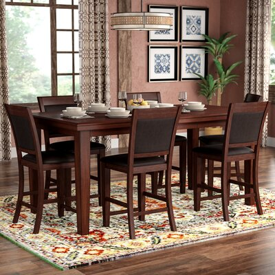 Drago 7 Piece Counter Height Dining Set