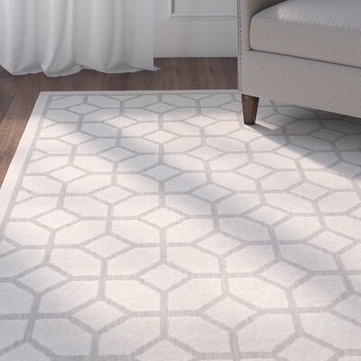 Bryan Light Gray Area Rug