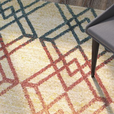 Brayden Brown Area Rug Rug Size: 910 x 132