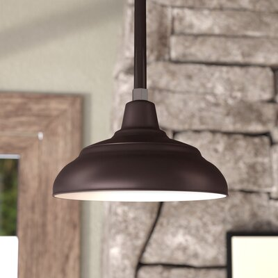 Sally Bowl Pendant Shade Size: 8.25 H x 14 W, Finish: Architectural Bronze