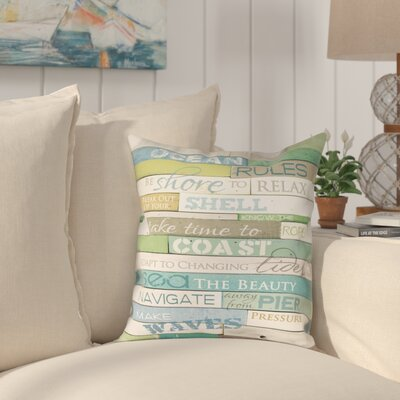 Westchester Outdoor Throw Pillow Size: 18 x 18