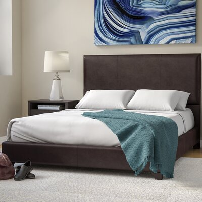 Breanna Upholstered Panel Bed Size: King