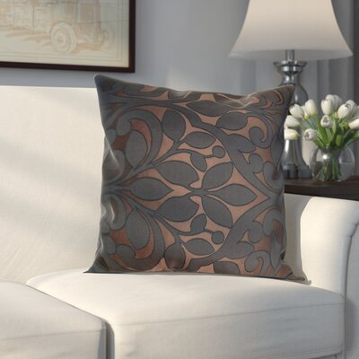 Evergreen Decorative Throw Pillow Color: Espresso