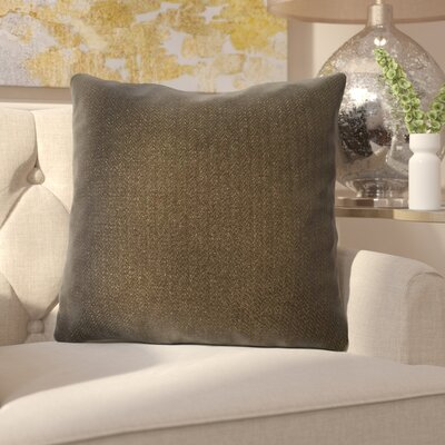 Ermont Decorative Throw Pillow Set Color: Chocolate