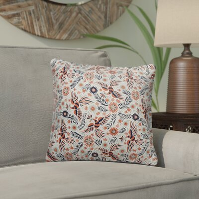 Geraldine Indoor/Outdoor Throw Pillow Size: 18 x 18