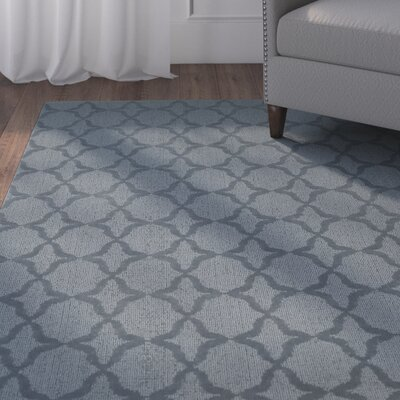 Southington Blue Area Rug Rug Size: Rectangle 12 x 18